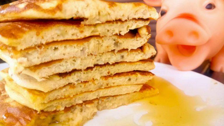Τα μπανανοpancakes, της Νεφέλης.
