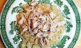 Κοτόπουλο με πιλάφι ή αλλιώς Tavuklu pilav από το Βόσπορο, γράφει η Έφη.