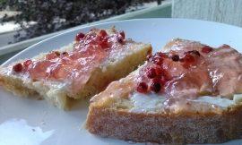 Μαρμελάδα ροζ γκρέιπφρουτ με ροζ πιπέρι, γράφει η Γιάννα