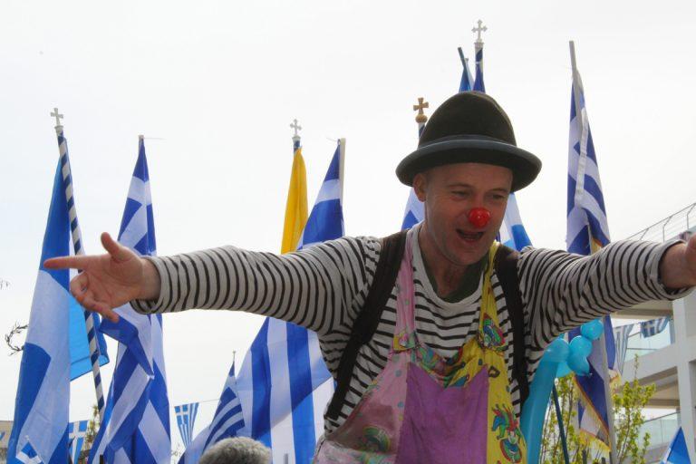 Μαρούσι 25 Μαρτίου 2018 – Η Μαθητική Παρέλαση, φωτογραφίζει η Γιάννα