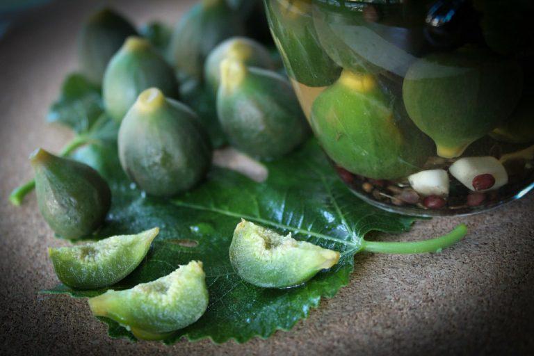 Τουρσί Άγριο Σύκο με μπαχάρια και φύλλα φρέσκου δυόσμου, γράφει η Γιάννα