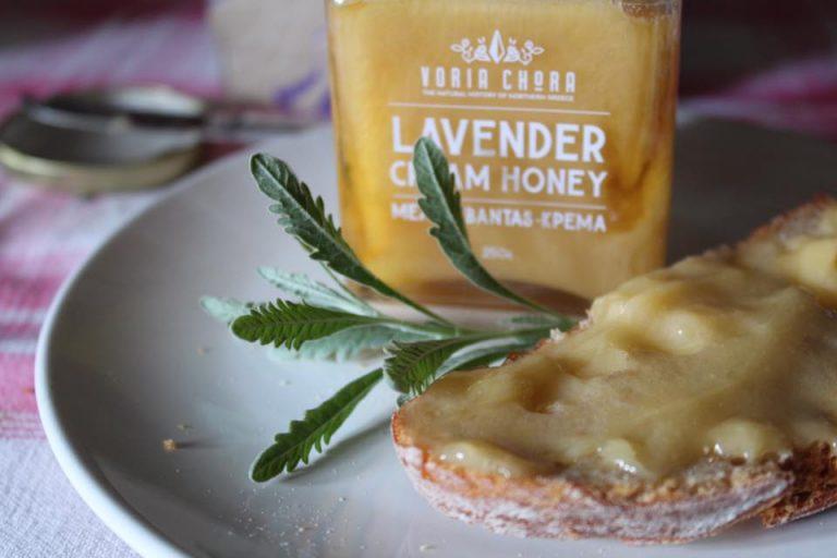 Voria Chora – Μοναδικό Μέλι Λεβάντας Κρέμα