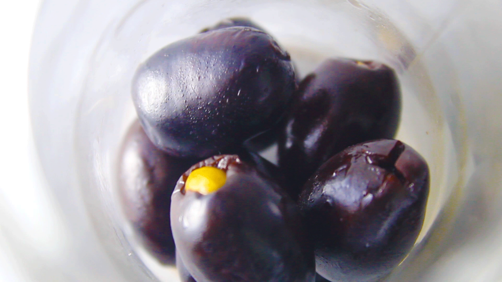 kalamata olives filled with almonds